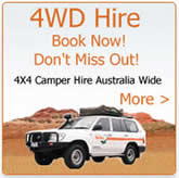 4wd and camper rentals in australia and new zealand