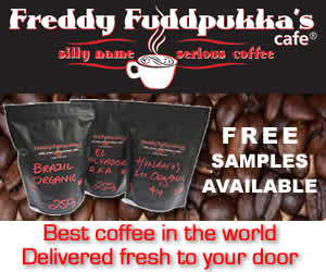Freddy Fuddpukkas Fressh Coffee