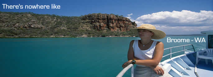 Come and holiday in Broome - Western Australia