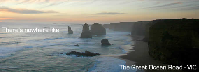 Drive the great ocean road in Victoria