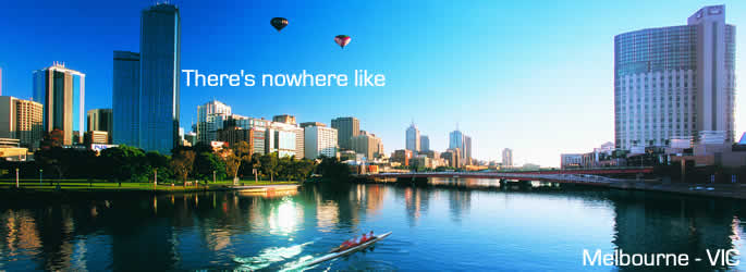 Come and holiday in Melbourne VIC