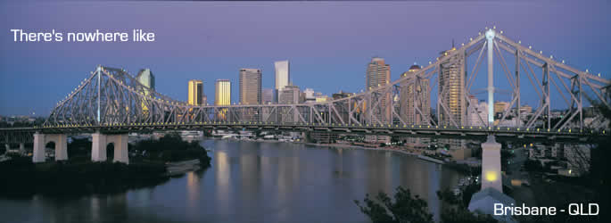 Come and holiday in Brisbane QLD