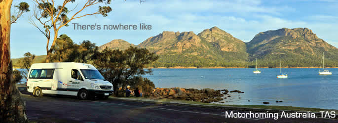 Enjoy a Motor home holiday in Australia