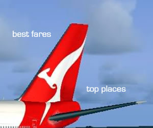 Get the best airfares for travel in Australia