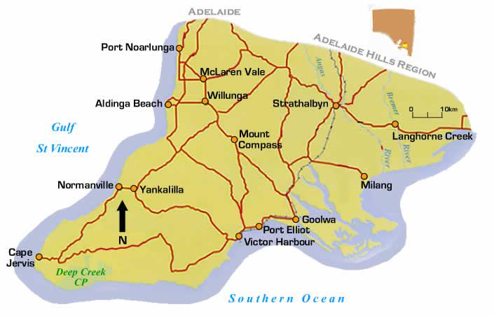 Mclaren Vale Australia  city images : Fleurieu Peninsula. South Australia Australia